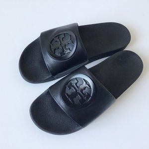 NEW TORY BURCH 'Lina' Slide Sandals - Size US 10